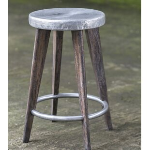 Rocha Hammered Top 24.5 Bar Stool