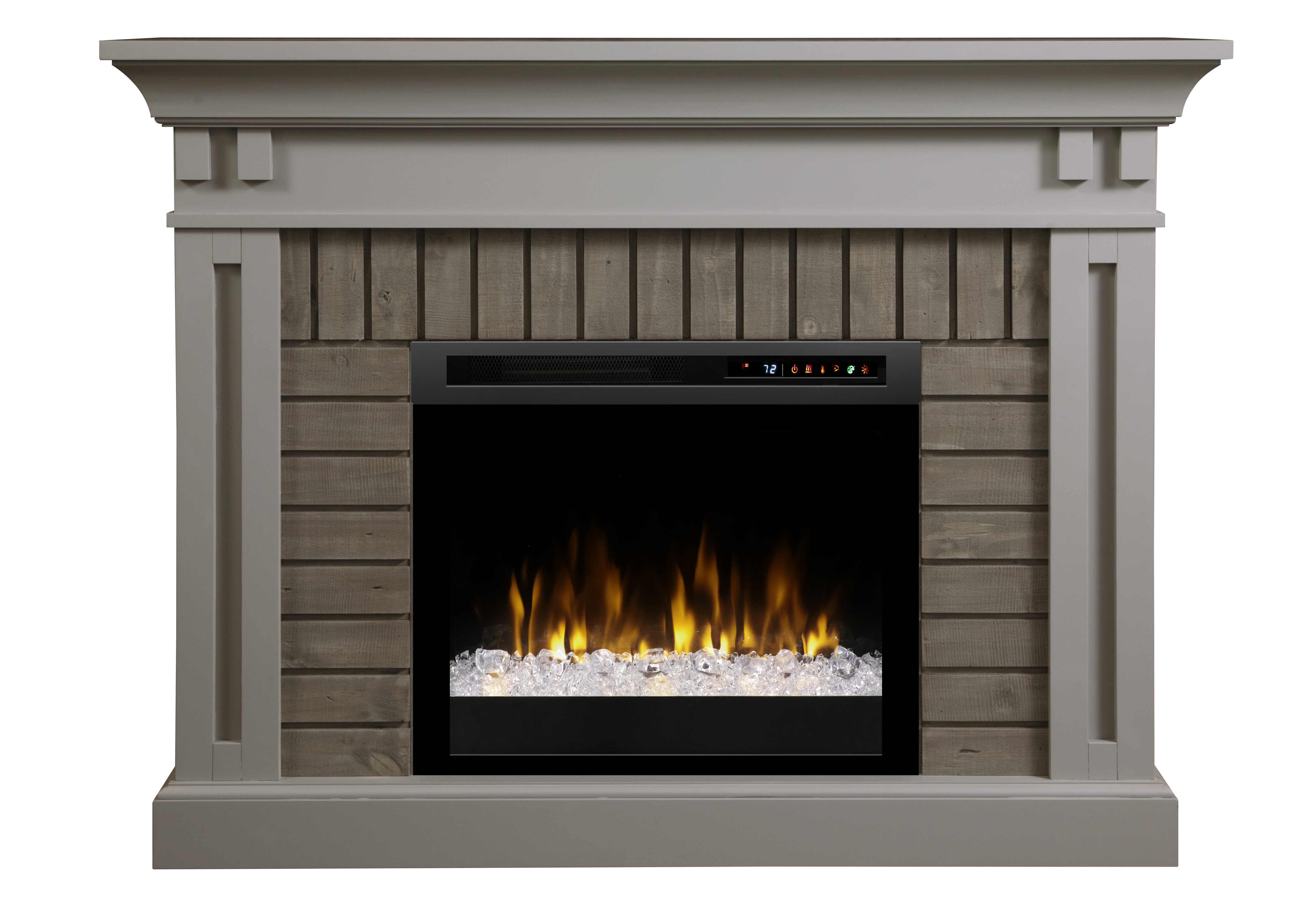 Darby Home Co Brookins Electric Fireplace Reviews Wayfair