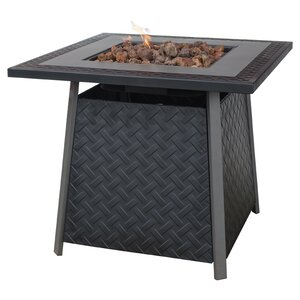Jameson Steel Propane Fire Pit Table