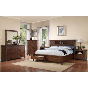 Camas Platform Bookcase Configurable Bedroom Set