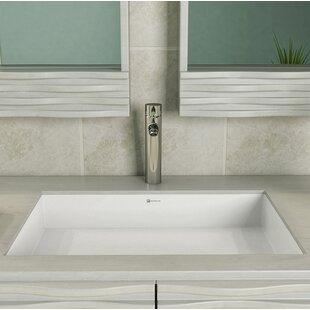Quickview. DECOLAV. Saidi NULL Rectangular Undermount Bathroom Sink ...