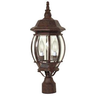 Outdoor 3 Light Lamp Post Lamp post lights youll love wayfair lamp post lights workwithnaturefo