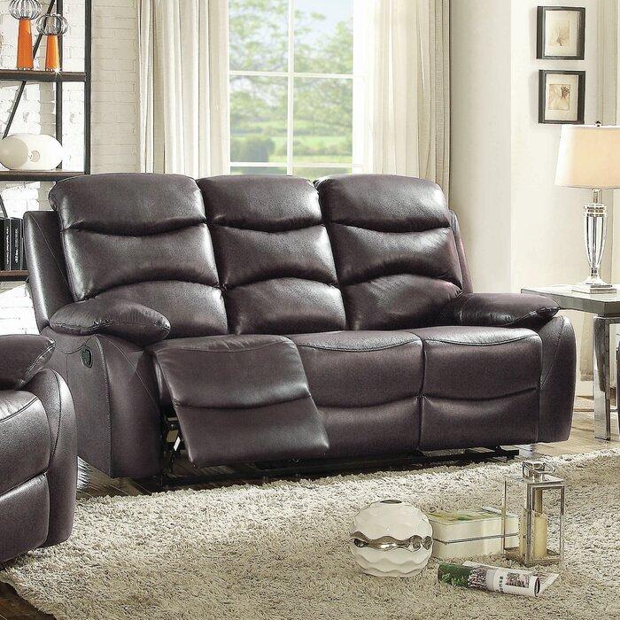 Lynx Double Leather Reclining Sofa