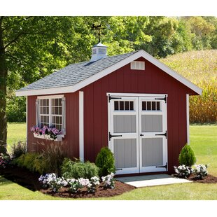 Homestead 10 Ft. W X 12 Ft. D Wood Storage Shed