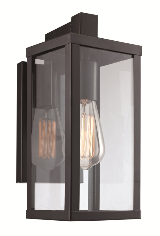 Helena 1 Light Outdoor Wall Lantern Amp Reviews Allmodern