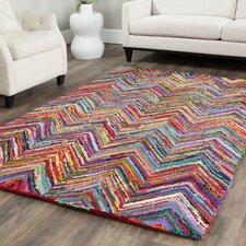 Barnes Hand Tufted Multi Colored Area Rug
