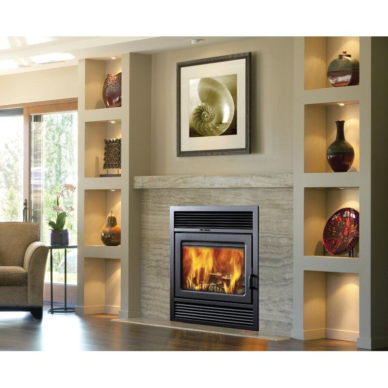 Supreme Fireplaces Inc. Galaxy Zero Clearance Semi-Classic Wood Burning Fireplace Insert | Wayfair