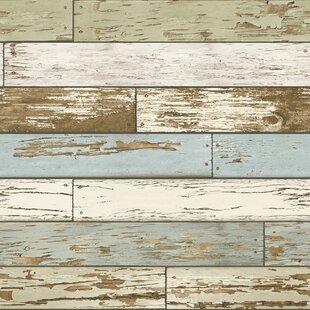Old Salem 18 X 205 Wood Wallpaper