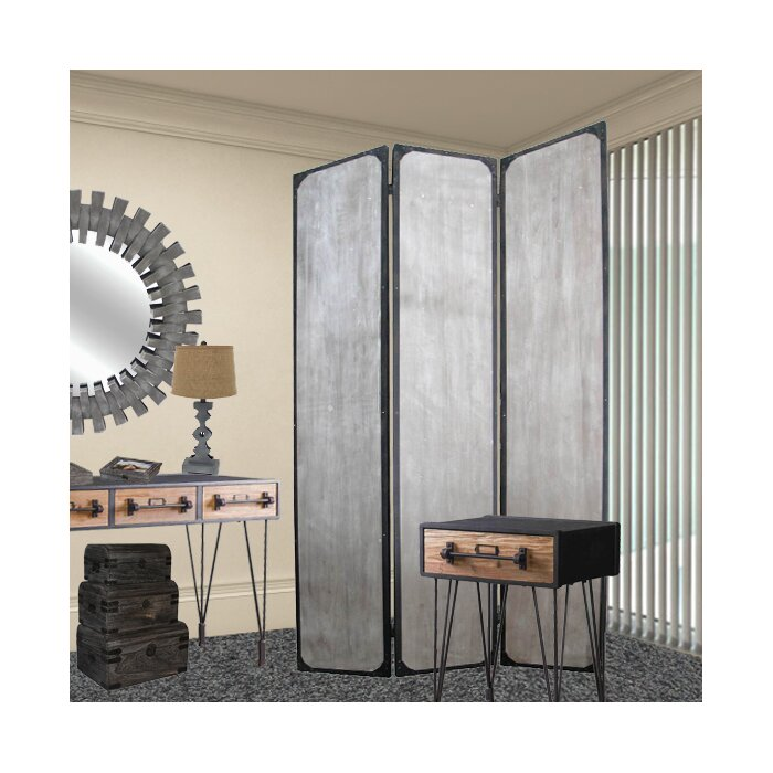 Screen Gems Industrial Room Divider Wayfairca