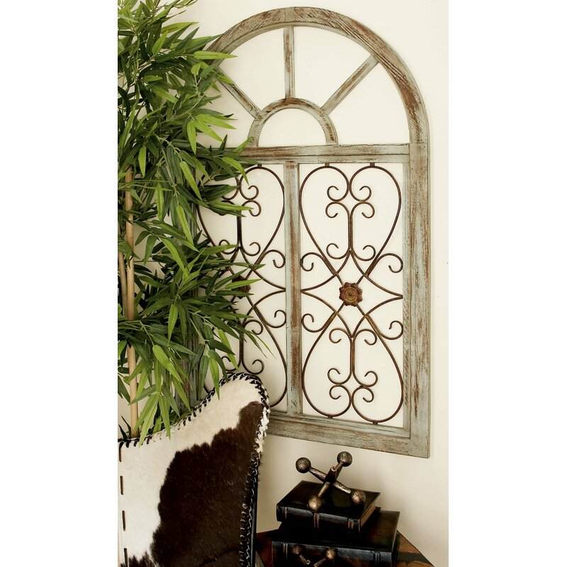 Wood And Iron Wall Decor