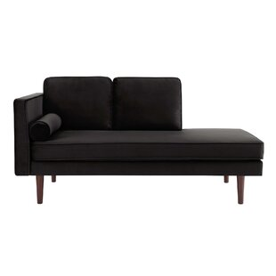 Black Chaise Lounges