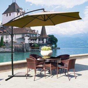 Mcombo 10u0027 Cantilever Umbrella