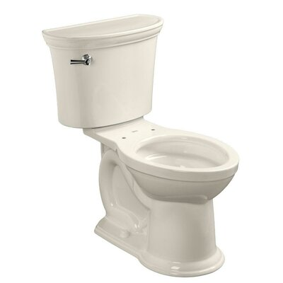American Standard VorMax Heritage 1.28 GPF Elongated Two-Piece Toilet (Seat Not Included)