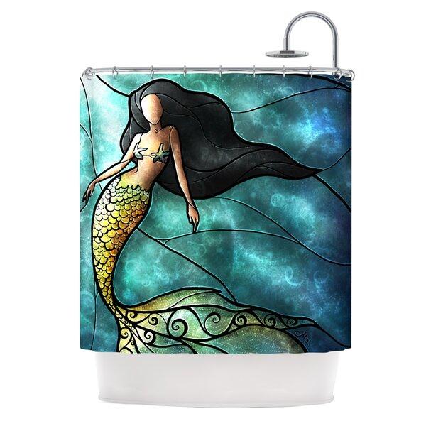 KESS InHouse Mermaid Shower Curtain U0026 Reviews | Wayfair