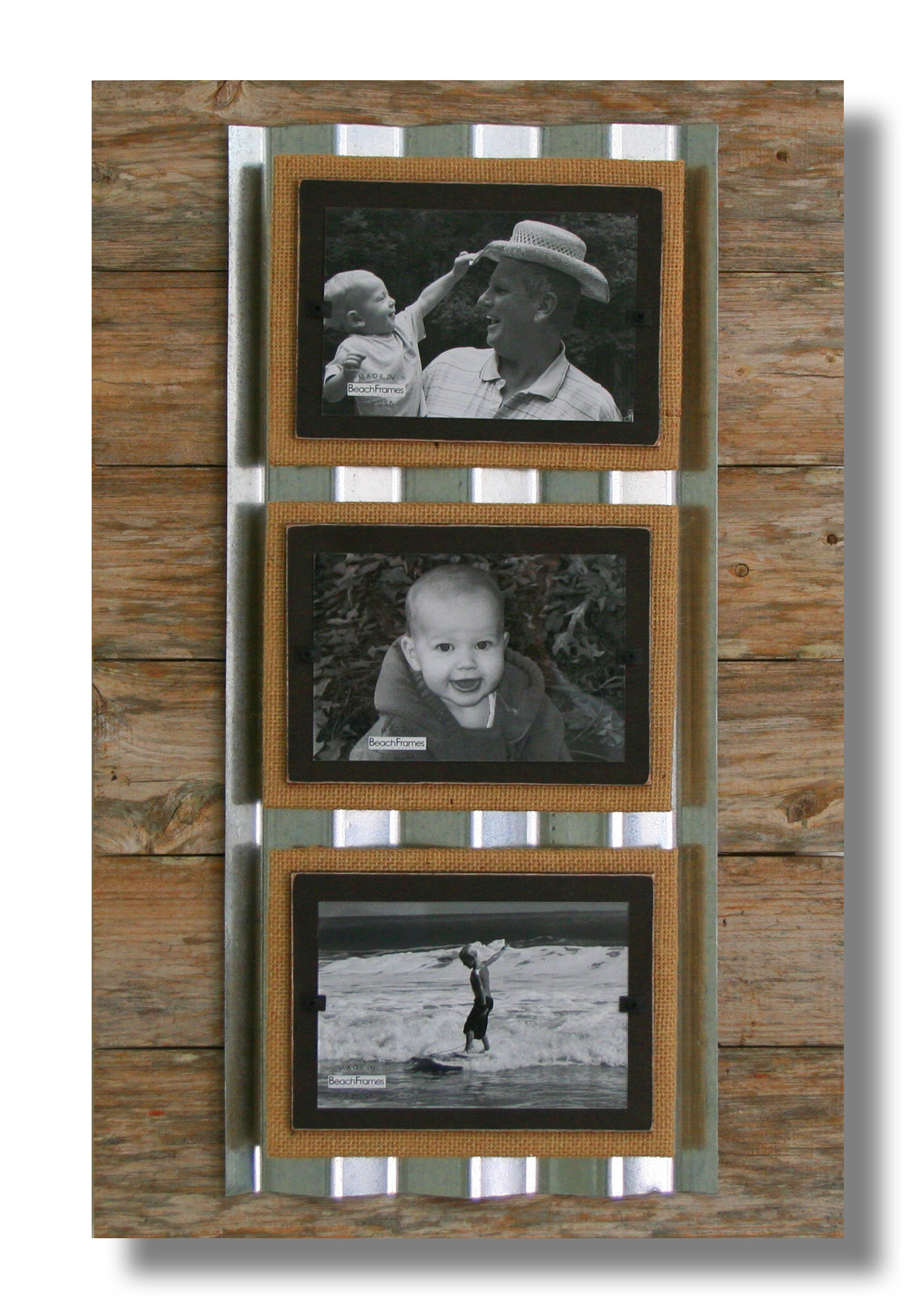 Beach Frames Triple Picture Frame | Wayfair