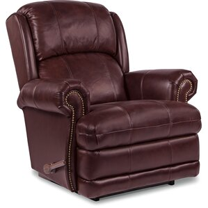kirkwood manual rocker recliner - Leather Rocker Recliner
