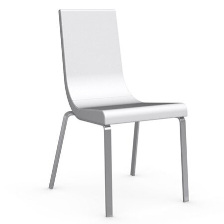 cruiser genuine leather upholstered dining chair reviews allmodern