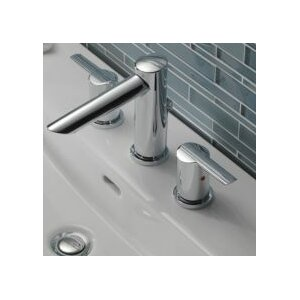 Compel Double Handle Deck Mount Roman Tub Trim