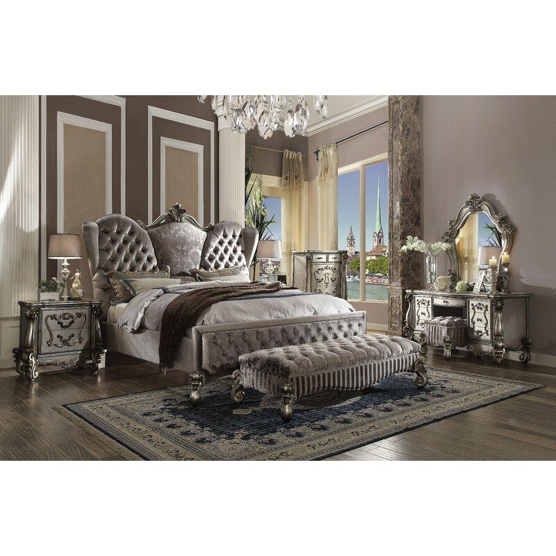 Tanner California King Standard Configurable Bedroom Set