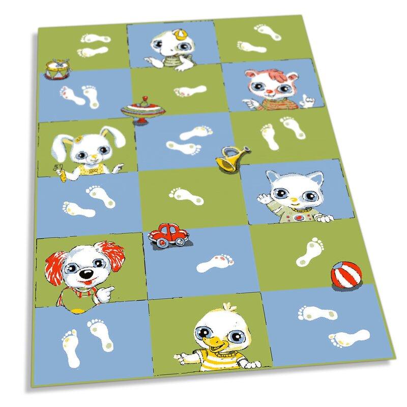 Joyful Kids Footprint Mat