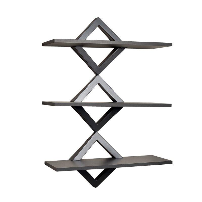 Dehaan Diamonds 3 Level Wall Shelf Amazing Design