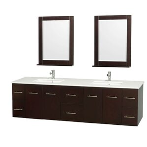 Espresso Finish Bathroom Vanity Wayfair