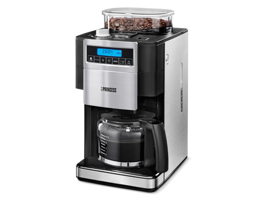 princess coffee maker with bean grinder reviews. Black Bedroom Furniture Sets. Home Design Ideas