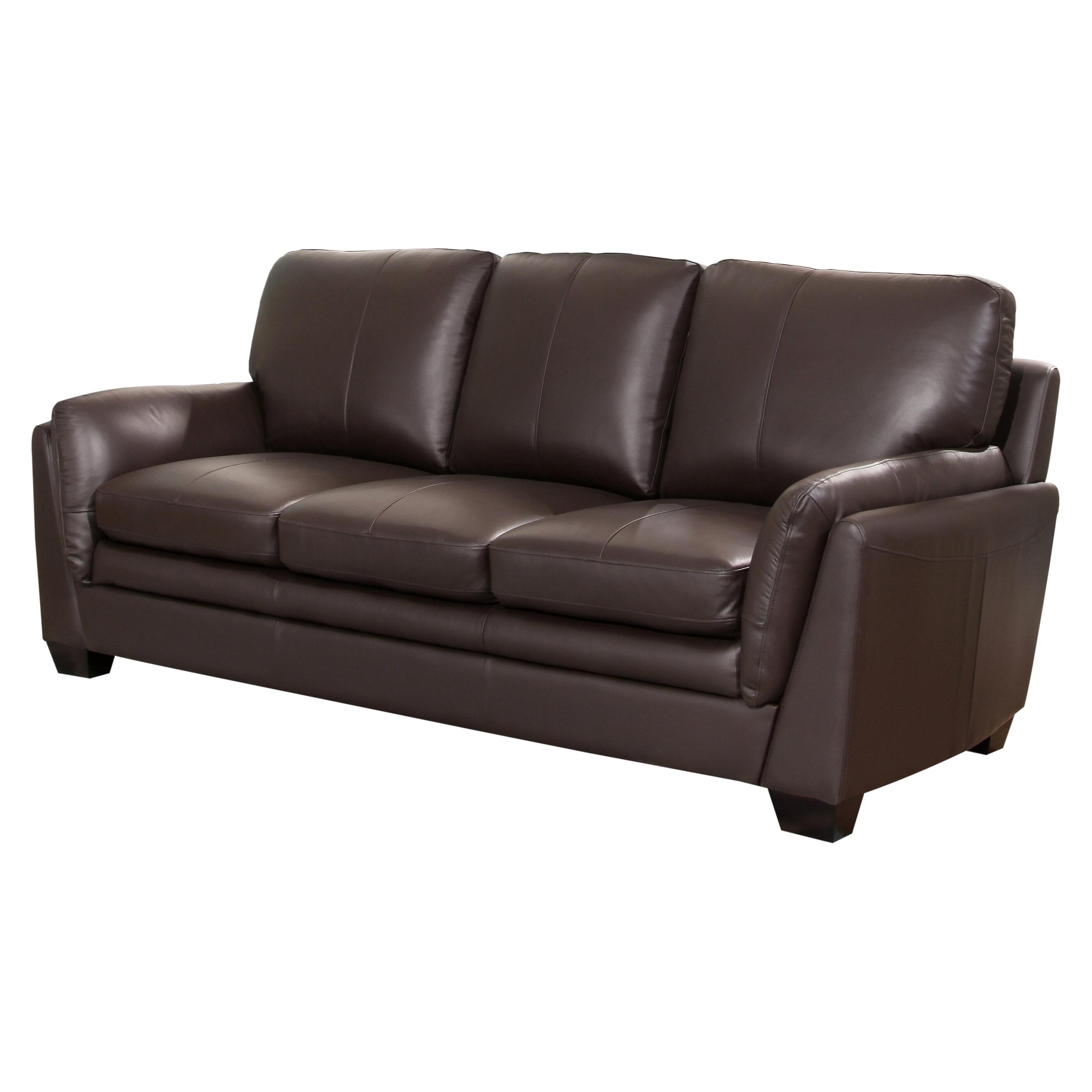 Beau Whitstran Leather Sofa