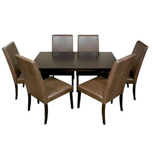 7 Piece Dining Set by Warehouse of Tiffany