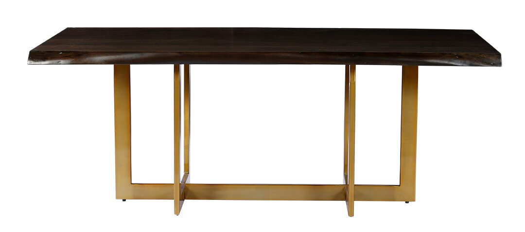 Minni Acacia Wood Slab Dining Table. Everly Quinn Minni Acacia Wood Slab Dining Table   Reviews   Wayfair
