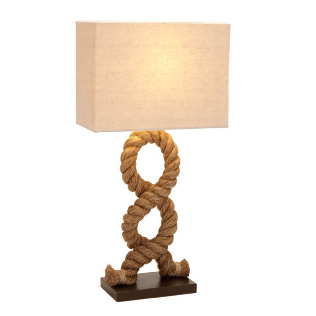 Ec world imports hamptons nautical rope pier 28 table lamp reviews wayfair