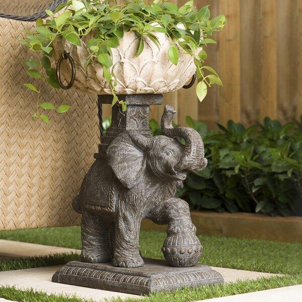 BombayOutdoors Assam Elephant Statue Planter U0026 Reviews | Wayfair