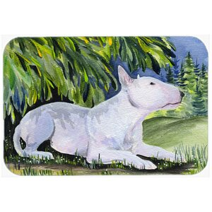 Bull Terrier Kitchen/Bath Mat
