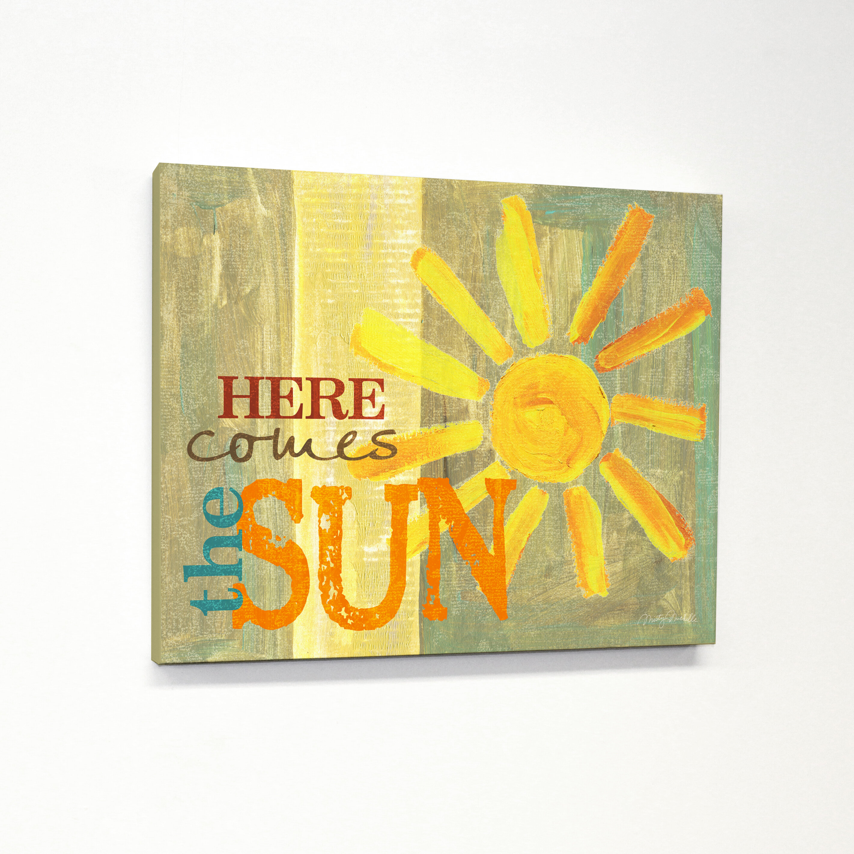 August Grove \'Here Comes the Sun\' Textual Art & Reviews | Wayfair