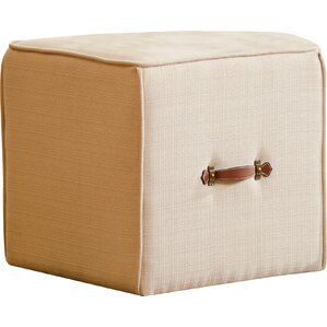 Frycrest Cube Ottoman by Three Posts
