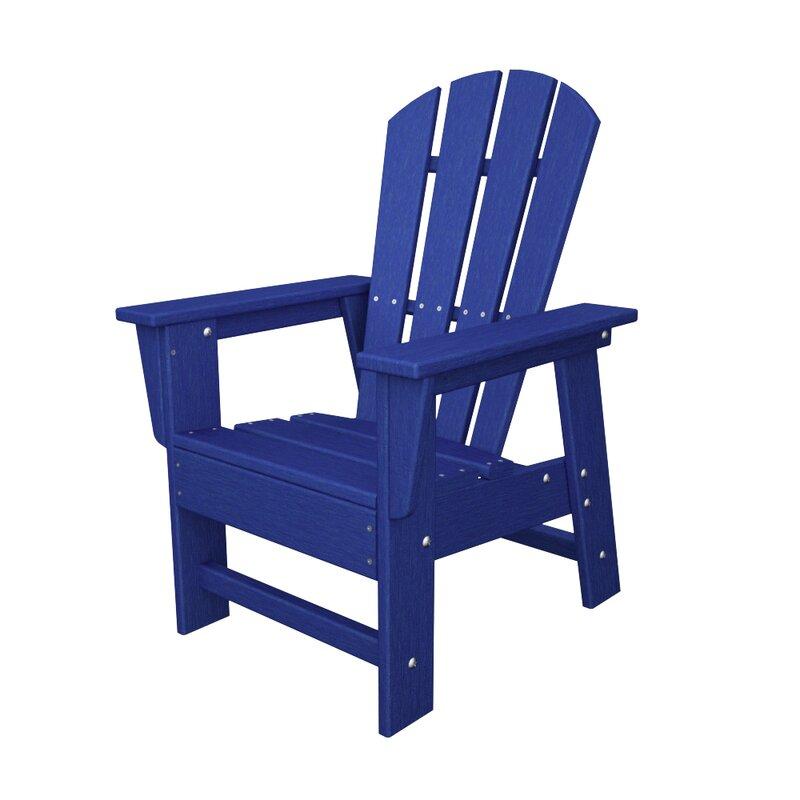 Kidu0027s Plastic Adirondack Chair