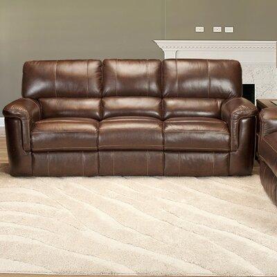 Futura Leather Reclining Sofa Wayfair