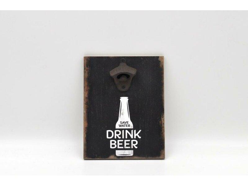 Pete Drink Beer Magnetic Bottle Opener