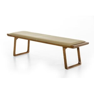 Wallace Wood Bench by Corrigan Studio