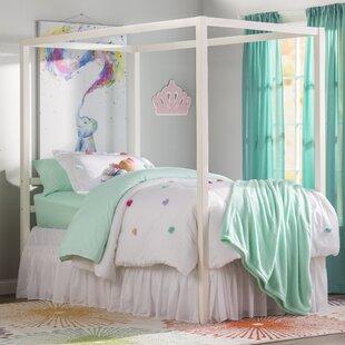 Full Size Kids Canopy Bed   Wayfair
