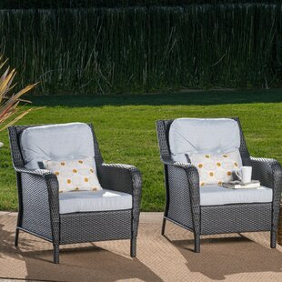 Astonishing August Grove Custom Patio Lounge Chairs Youll Love Wayfair Machost Co Dining Chair Design Ideas Machostcouk
