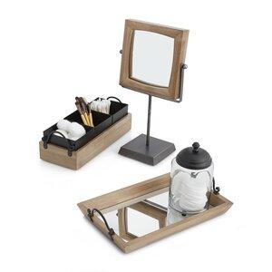 Lonestar 3-Piece Bathroom Accessory Set