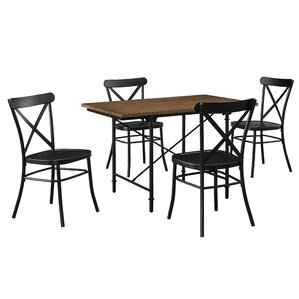 Abbey 5 Piece Counter Height Dining Set by Gracie Oaks