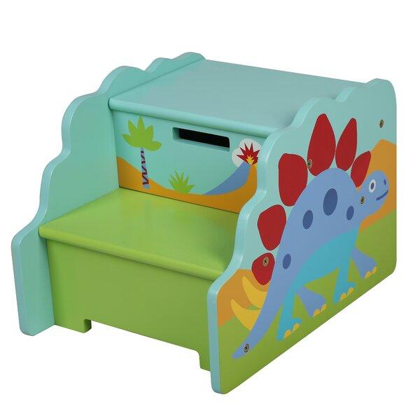 Exceptionnel Olive Kids Olive Kids Dinosaur Step U0027n Store Step Stool With Storage U0026  Reviews | Wayfair
