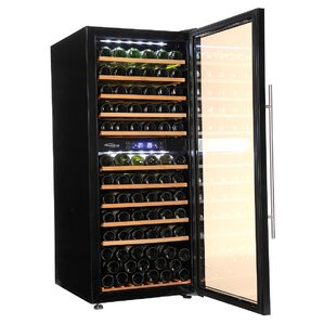 137 Bottle Dual Zone Built-In Wine Cellar by Soleus Air