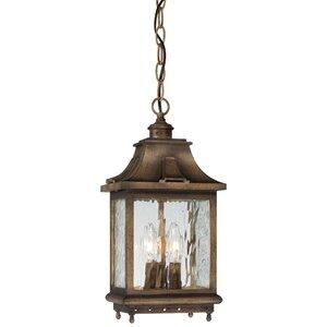 Danville 3-Light Outdoor Hanging Lantern