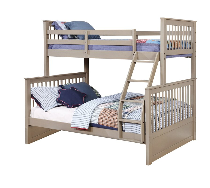 liberty twin over full bunk bed without drawers