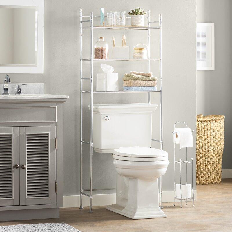 Wayfair Basics 22 83 W X 59 84 H Over The Toilet Storage