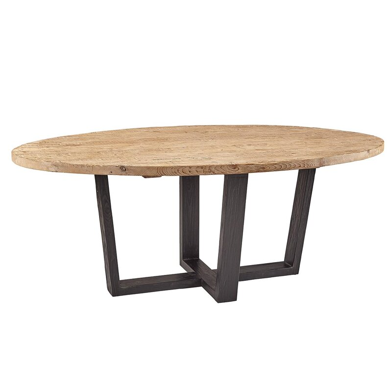 Charmant Atlantic Oval Dining Table