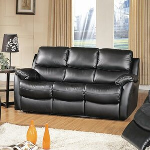 Brett Top Grain Leather Reclining Sofa by Wildon Home ?
